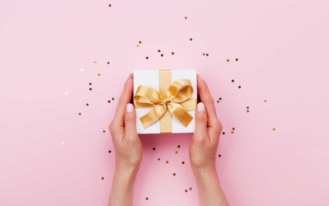 Heute erhältst Du ein Geschenk!